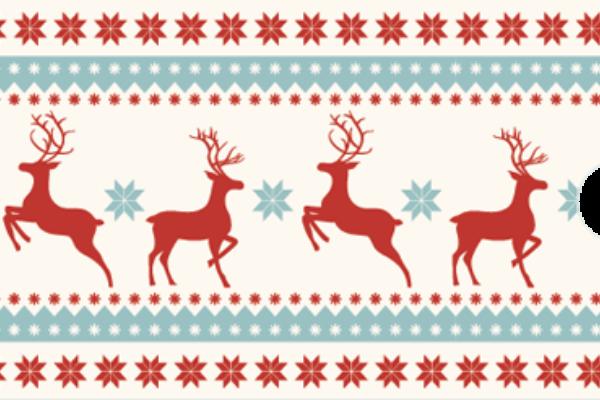 Einsteckhuelle Nordische Weihnacht Web