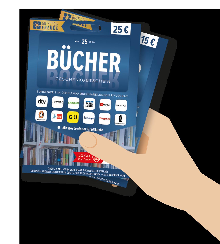 BÜCHER Gutschein